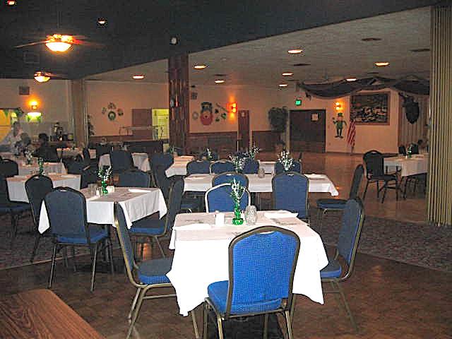 Salmon Run Grill Dining Room