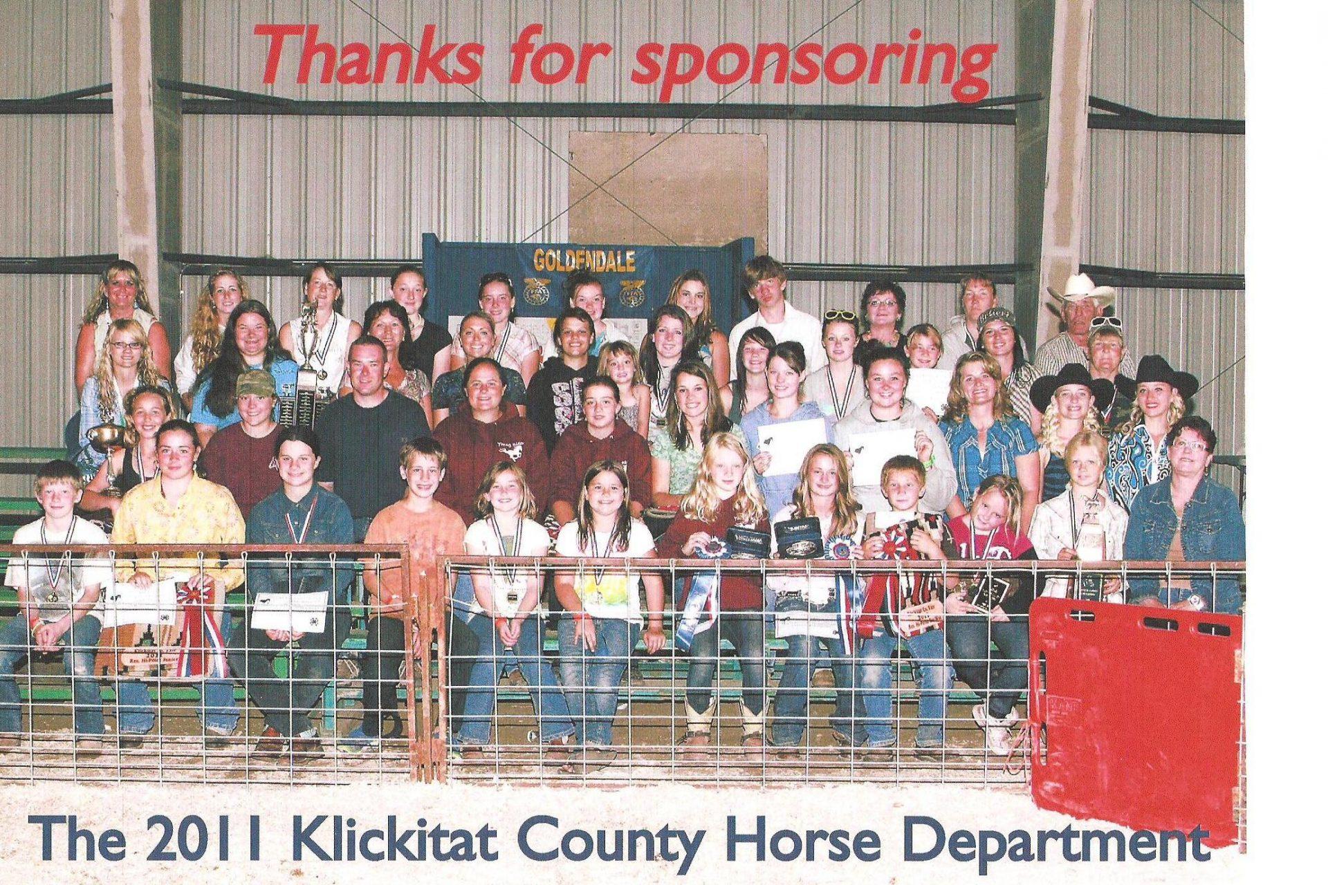 Klickitat County Sponsoring