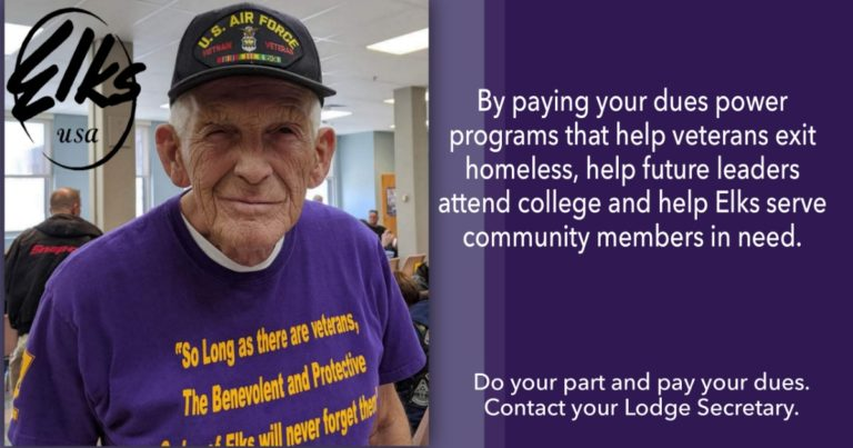 Help Our Vets, Pay your dues